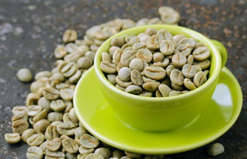 الک کردن قهوه سبز
